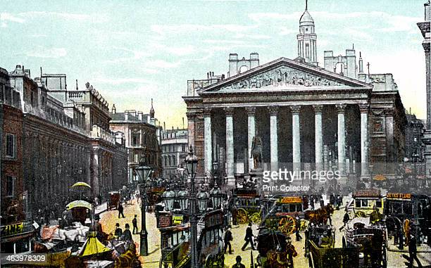 The Royal Exchange London 20th Century The Royal Exchange was established by Sir Thomas Gresham in 1566 with the aim of making London main European...