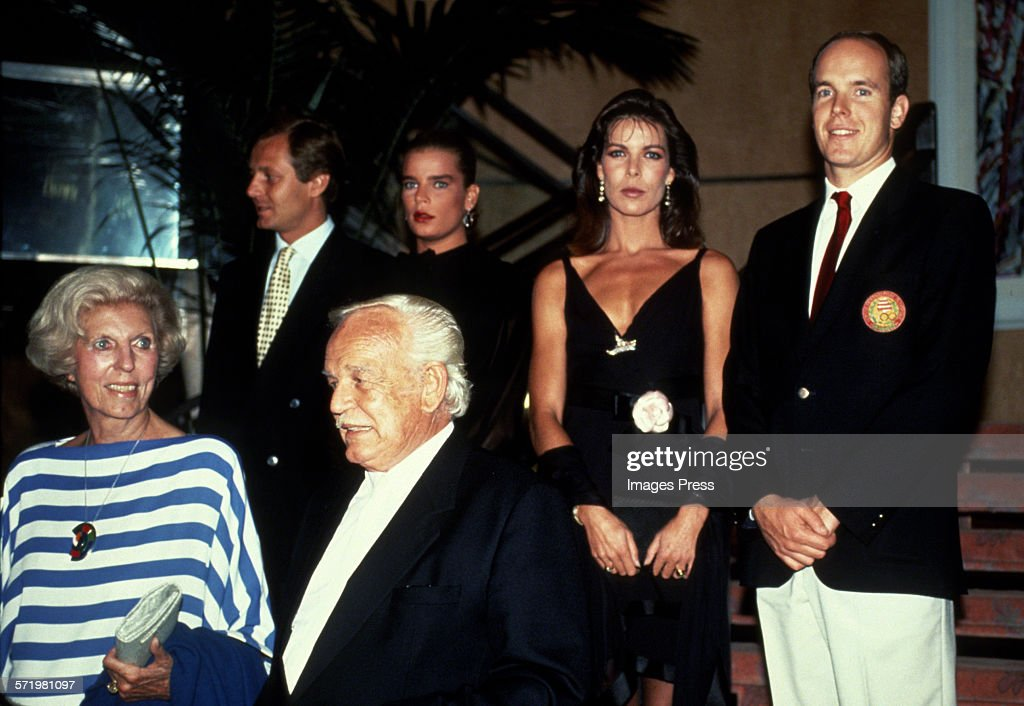 The Royal Family of Monaco circa 1990 in New York City