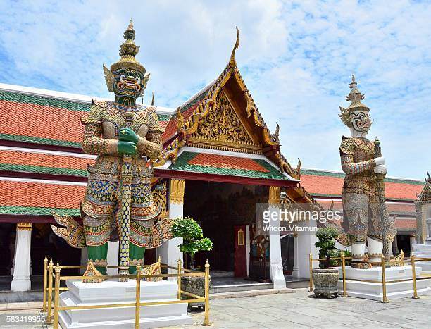 The royal grand palace Thailand, Wat phra kaeo