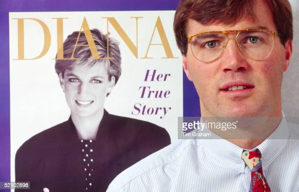 The Royal Journalist Andrew Morton Posing After The Publication Of His Book 'diana Her True Story'