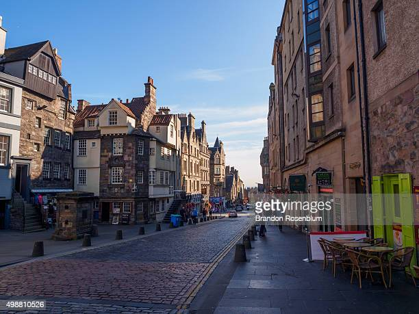 The Royal Mile in Edinburgh