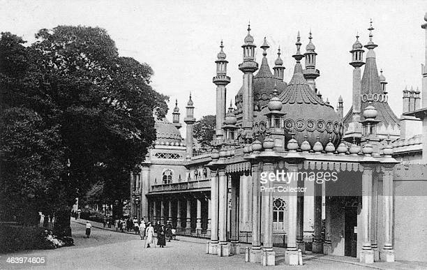 The Royal Pavilion Brighton East Sussex early 20th century The Royal Pavilion is a former royal residence built in the early 19th century as a...