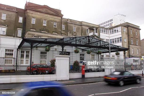 The Royal Sussex Hospital in Brighton on the day a senior surgeon warned there was not a single intensive care bed available in Brighton as Health...