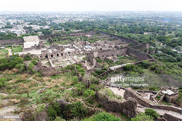 The Ruins Of Golconda Fort