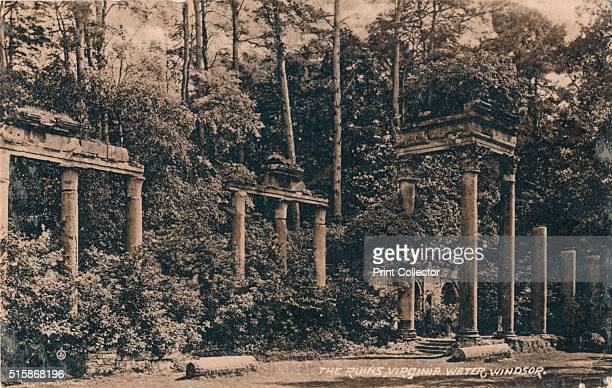 The Ruins Virginia Water Windsor' circa 1917 In 1861 Colonel Hanmer Warrington Consul General in Tripoli persuaded the local Governor to allow the...