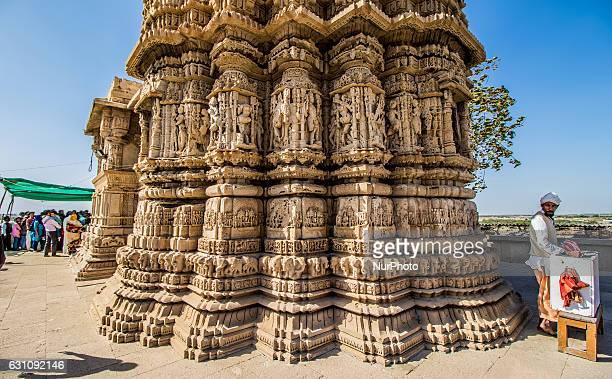 The Rukmini Devi Temple is a temple in Dwarka 2 kilometres away from DwarkaGujrat India on 06 Jan2017 It is dedicated to Rukmini Krishnas chief queen...