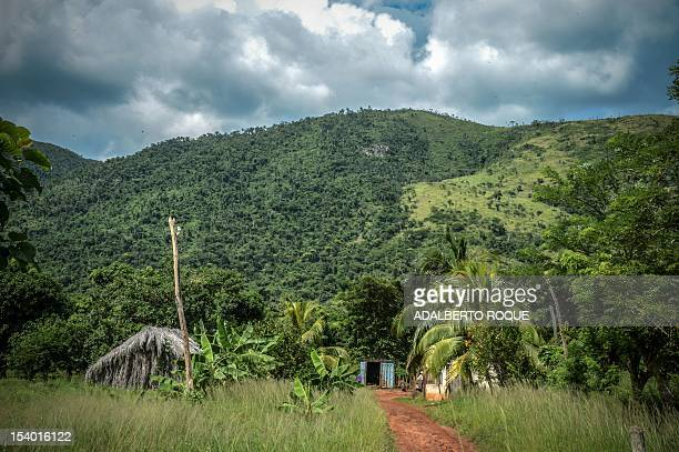 The rural areaplace where a Russian R12 theatre missile battery was deployed during the 1962 missile crisis in San Cristobal Mayabeque province Cuba...