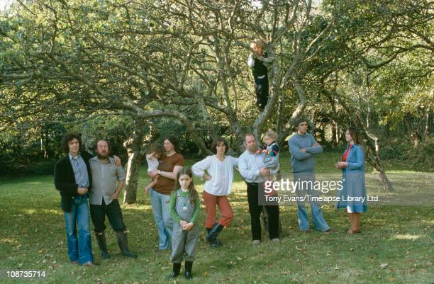Peter Blake Jann Howorth David Inshaw Ann and Graham Arnold and Annie and Graham Ovende founded in Somerset 1975 in a garden 1977