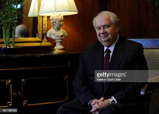 The Russian ambassador Sergey Kislyak is in Denver looking into the Russian government's investment in uranium and nuclear in the rocky mountain...