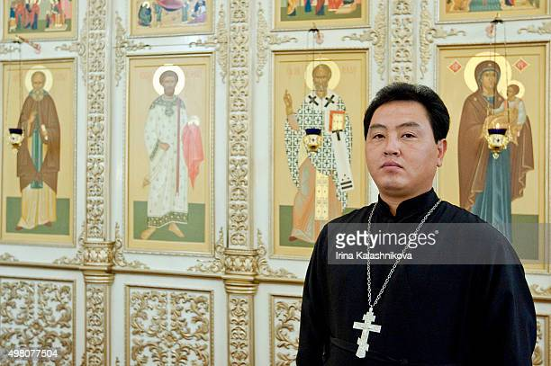 The Russian Orthodox church in Pyongyang which was opened in 2007 to cement growing ties between the two countries