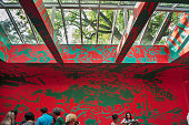 The Russian pavillion at the Giardini Venice Biennale May 2015
