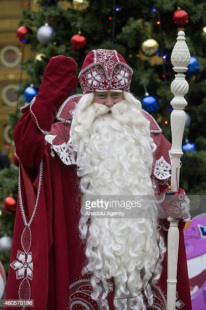 Russian santa claus stock photos and pictures getty images