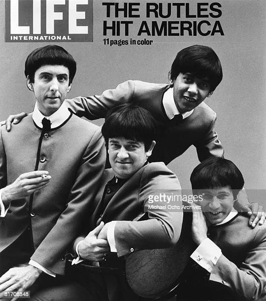 The Rutles grace the cover of Life Magazine in1978 in New York City New York The PreFab Four were filming their mockumentary titled 'All You Need Is...