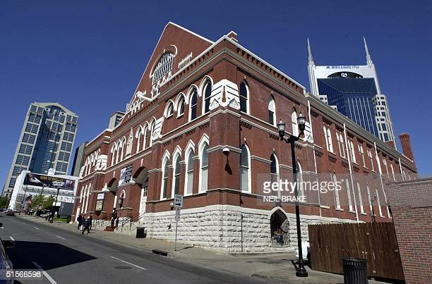 The Ryman Auditorium in downtown Nashville Tennessee 13 October 2000 This is the original Grand Ole Opry House The new Grand Ole Opry is relocated...