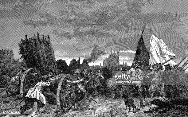 The Sack of Magdeburg Magdeburgs Opfergang or Magdeburger Hochzeit refers to the siege the subsequent plundering and the massacre of the inhabitants...