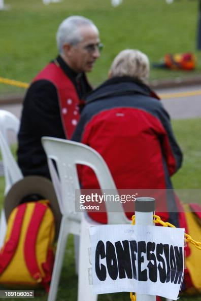 The sacrament of reconciliation World Youth Day Sydney