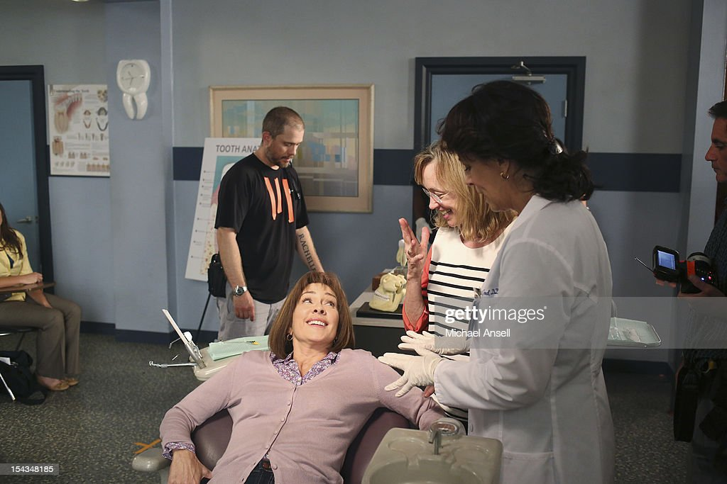 THE MIDDLE - 'The Safe' - Frankie is made an example of in front of the entire class when she doesn't make a good impression on her first day of dental assisting school with no-nonsense teacher Mrs. Armwood (Jane Kaczmarek, 'Malcolm in the Middle'). Meanwhile, because Axl's broken foot may end any chance of his receiving a college sports scholarship, Frankie and Mike insist that he up his grades and get himself a tutor; and Sue and Brick think they've stumbled upon an expensive item inside an old safe and try to get big bucks for it from a local pawn store employee (Rick Harrison, 'Pawn Stars'), on 'The Middle,' WEDNESDAY, NOVEMBER 7 (8:00-8:30 p.m., ET) on the ABC Television Network. , JANE