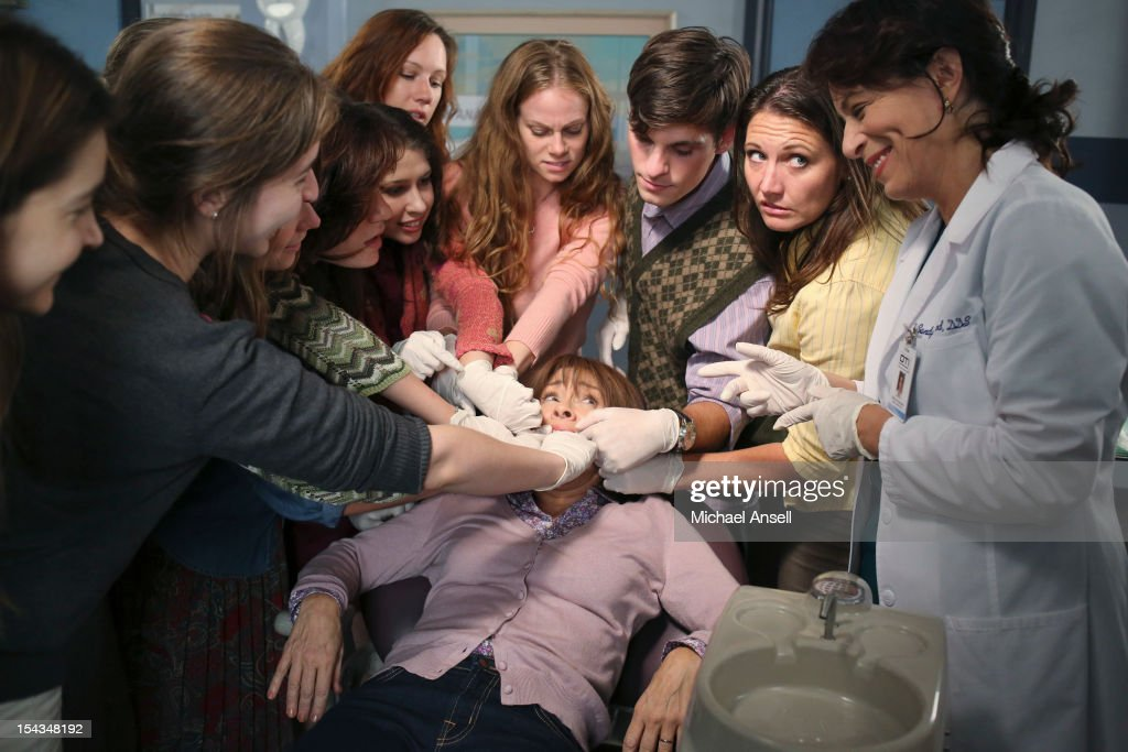 THE MIDDLE - 'The Safe' - Frankie is made an example of in front of the entire class when she doesn't make a good impression on her first day of dental assisting school with no-nonsense teacher Mrs. Armwood (Jane Kaczmarek, 'Malcolm in the Middle'). Meanwhile, because Axl's broken foot may end any chance of his receiving a college sports scholarship, Frankie and Mike insist that he up his grades and get himself a tutor; and Sue and Brick think they've stumbled upon an expensive item inside an old safe and try to get big bucks for it from a local pawn store employee (Rick Harrison, 'Pawn Stars'), on 'The Middle,' WEDNESDAY, NOVEMBER 7 (8:00-8:30 p.m., ET) on the ABC Television Network. KACZMAREK