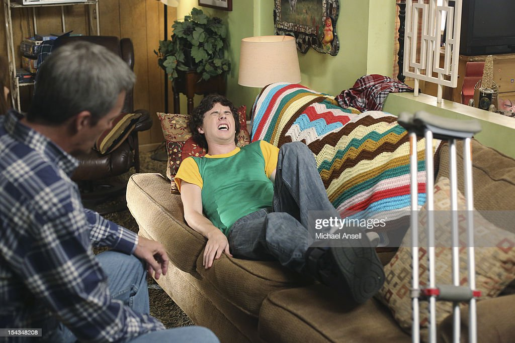 THE MIDDLE - 'The Safe' - Frankie is made an example of in front of the entire class when she doesn't make a good impression on her first day of dental assisting school with no-nonsense teacher Mrs. Armwood (Jane Kaczmarek, 'Malcolm in the Middle'). Meanwhile, because Axl's broken foot may end any chance of his receiving a college sports scholarship, Frankie and Mike insist that he up his grades and get himself a tutor; and Sue and Brick think they've stumbled upon an expensive item inside an old safe and try to get big bucks for it from a local pawn store employee (Rick Harrison, 'Pawn Stars'), on 'The Middle,' WEDNESDAY, NOVEMBER 7 (8:00-8:30 p.m., ET) on the ABC Television Network. MCDERMOTT