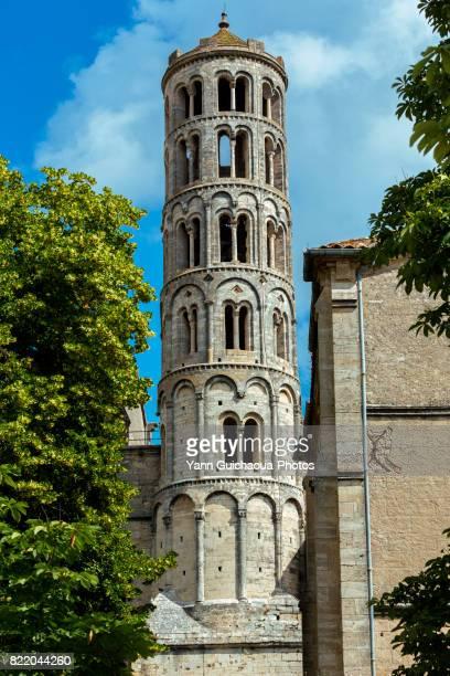 The Saint Theodorit cathedral, Uzes, Gard, Occitanie, France