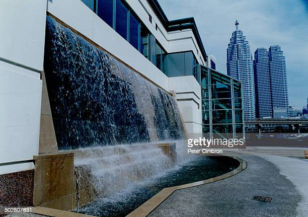 The salmonstudded waters that cascade in a fountain near SkyDome the swampy centre of the BCE Place courtyard and an elegant waterfall tucked into a...