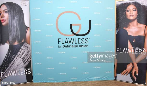 The Salon By InStyle Inside JCPenney Hosts Meet and Greet with Gabrielle Union at The SALON by InStyle Inside JCPenney on September 16 2017 in...