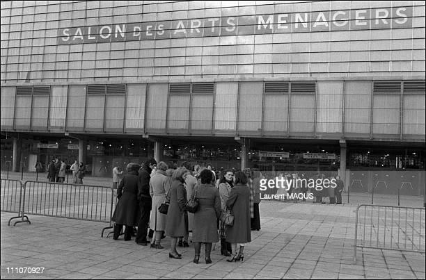 39 salon des arts menagers 39 photos et images de collection getty images - Salon des arts creatifs paris ...
