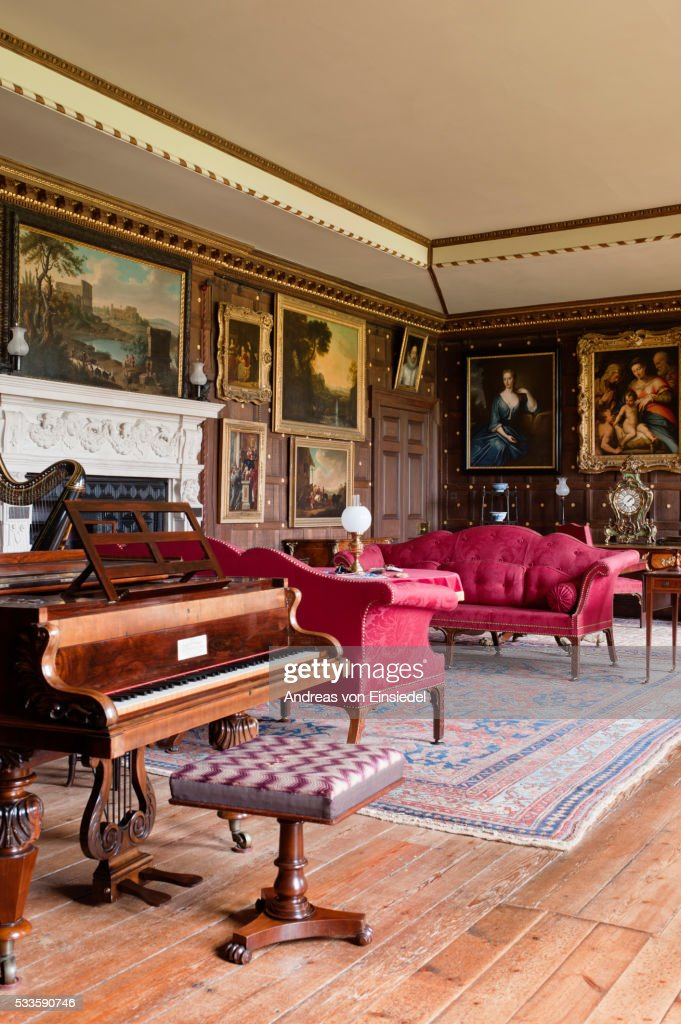 The Saloon, The Vyne, Hampshire.