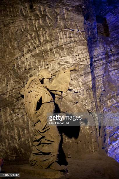 The Salt Cathedral of Zipaquira is an underground Roman Catholic Church / Cathedral built 200m down in the tunnels of a salt mine in a village called...