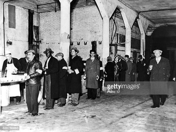 The Salvation Army feeding the jobless during the Great Depression c19291930 United States of America