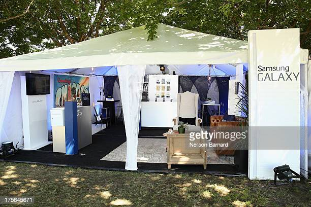 The Samsung Galaxy Artist Lounge at Lollapalooza on August 3 2013 in Chicago City