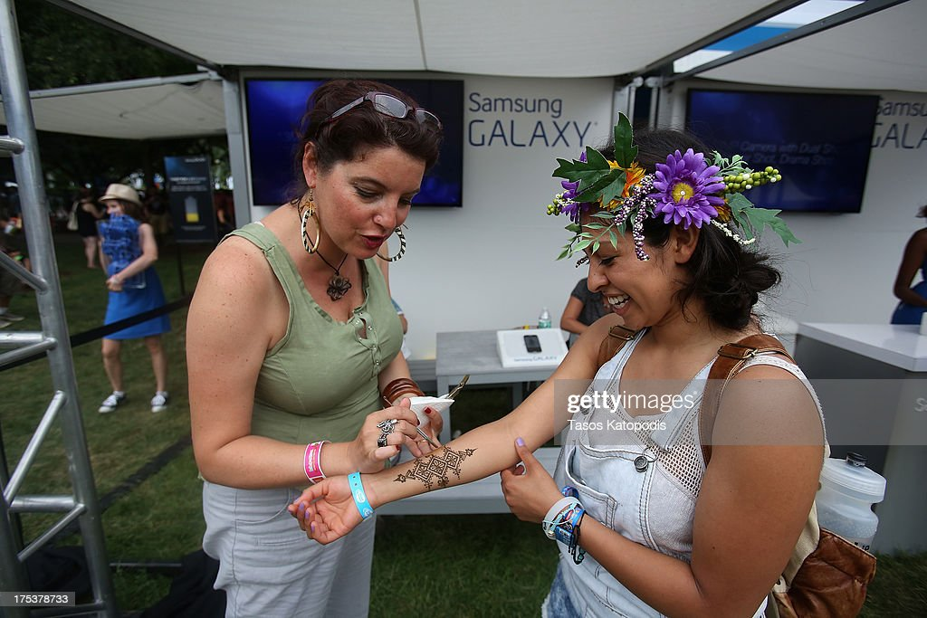 The Samsung Galaxy Experience at Lollapalooza on August 2, 2013 in Chicago City.