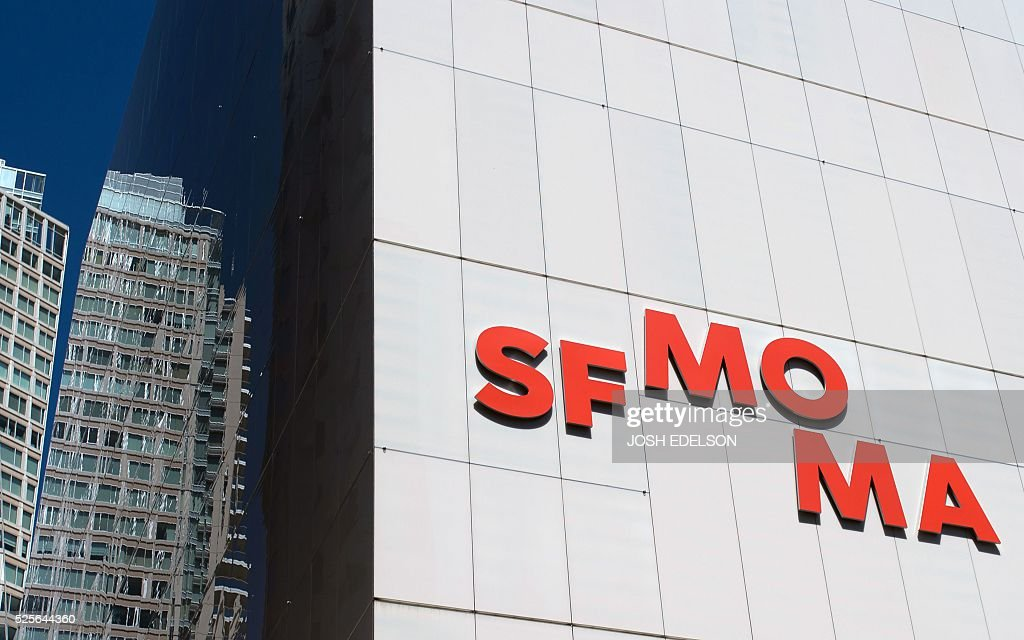 The San Francisco Museum of Modern Art (SFMOMA) is seen in San Francisco, California on April 28, 2016. The newly redesigned museum integrates a 10-story expansion in a new building and will open to the public on May 14, 2016. / AFP / Josh Edelson