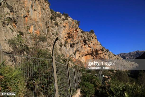 The Sanctuary of Pla de Petracos near Castell de Castells Marina Alta Alicante province Spain site of Neolithic rock paintings