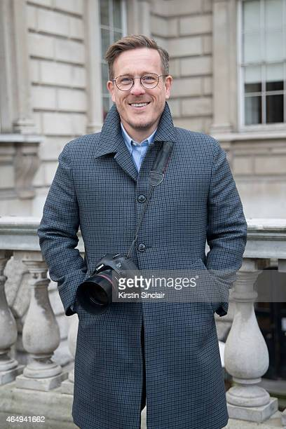 The Sartorialist photographer Scott Schuman on February 24 2015 in London England