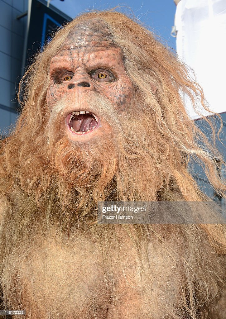 The Sasquatch arrives at the 2012 ESPY Awards at Nokia Theatre LA Live on July 11 2012 in Los Angeles California