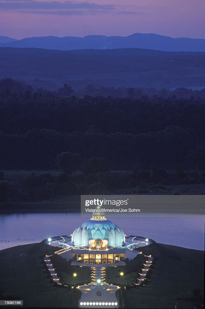 The Satchidananda Ashram-Yogaville and Lotus Conference Center in Buckingham, Virginia : Stock Photo