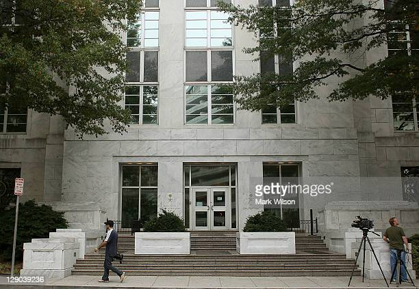 The Saudi embassy is shown on October 11 2011 in Washington DC Earlier today US Attorney General Eric Holder announced that a plot was foiled...
