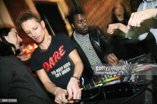 The Savoire Fair attends RADAR ENTERTAINMENT THE LAST MAGAZINE Toast Fashion Week at Studio 385 Broadway on February 20 2009 in New York City