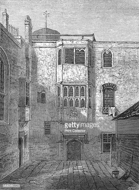 The Savoy 1815 After a drawing by JP Neale From Old and New London Vol III by Edward Walford