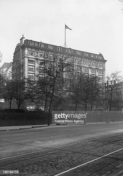 The Savoy Hotel on the Strand London 7th May 1931
