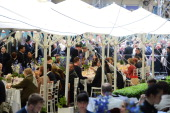The Savoy marks the Queens Diamond Jubilee with a street party held on Savoy Court for the first time in the hotels History 120 guests attended...