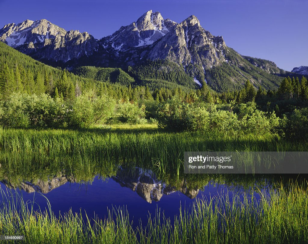 The Sawtooth Mountain Range, Stanley Idaho  (P)