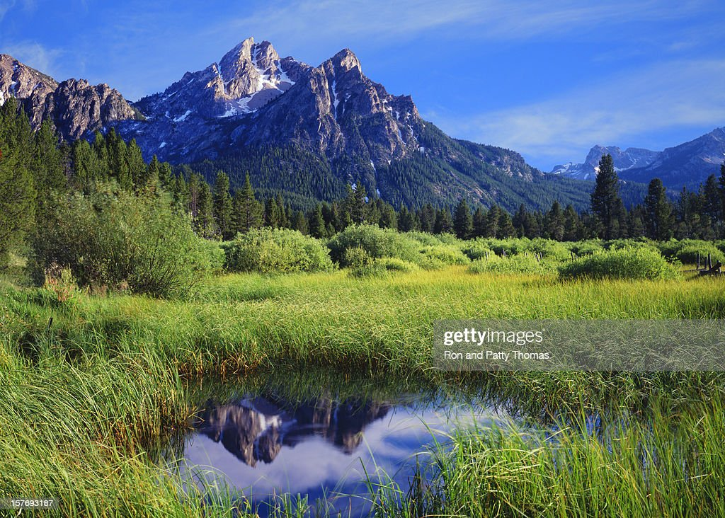 The Sawtooth Mountain Range, Stanley Idaho