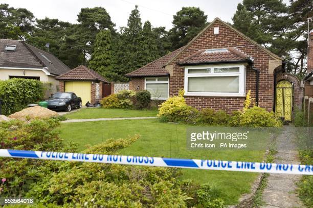 The scene at the home of missing nurse Rui Li in Burnham Drive in Bournemouth after detectives searching for Ms Li who has not been seen since the...