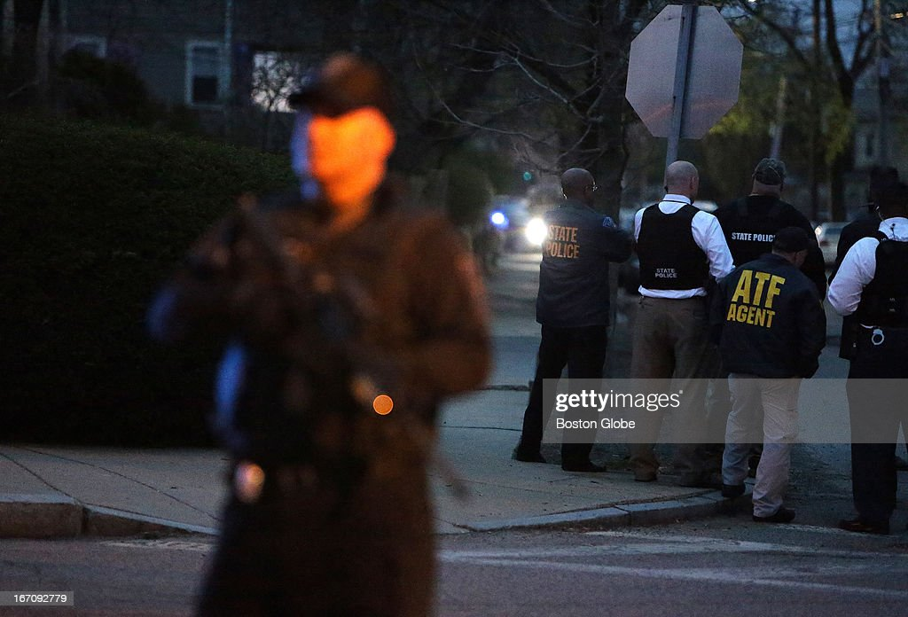 The scene at the intersection of Franklin and Mount Auburn Street in Watertown shortly before the capture of the second suspect After an intense...