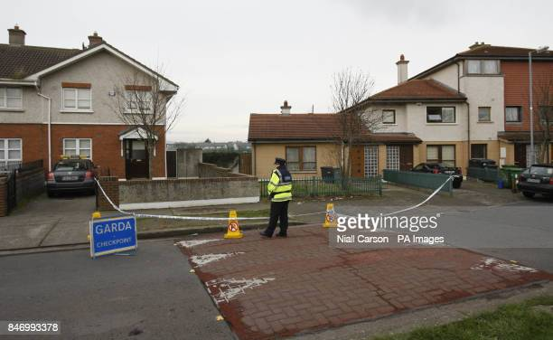 The scene in Brookview Way Tallaght Dublin where a 16yearold girl named locally as Melanie McCarthy but also known by the surname McNamara was killed...