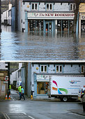 COMPOSITE IMAGE In this composite a comparison has been made between a book shop in Cockermouth High Street photographed on December 6 2015 and on...