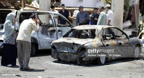 The scene in Tiran Centre in Old Sharm after the bomb attack on Friday night Three explosions in the Red Sea resort of Sharm El Sheikh claimed at...