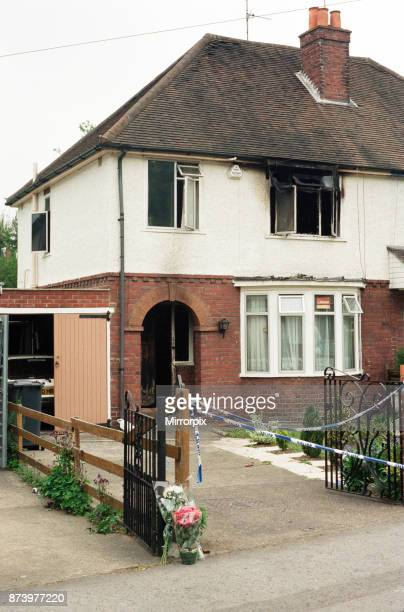 The scene of an arson attack on Hemdean Road Caversham Sevenyearold Emily Salvini was killed in the fire 3rd May 1997